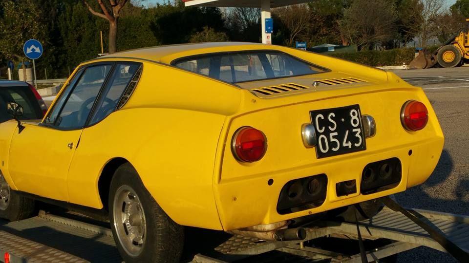 N on 1977 Lancia Scorpion