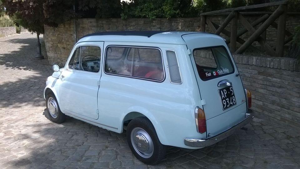 Fiat 500 Giardiniera Specifiche F 1966 Classiccarsitalia