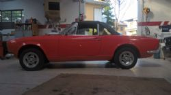 Fiat 124 Spider 1.4 chassis 000664